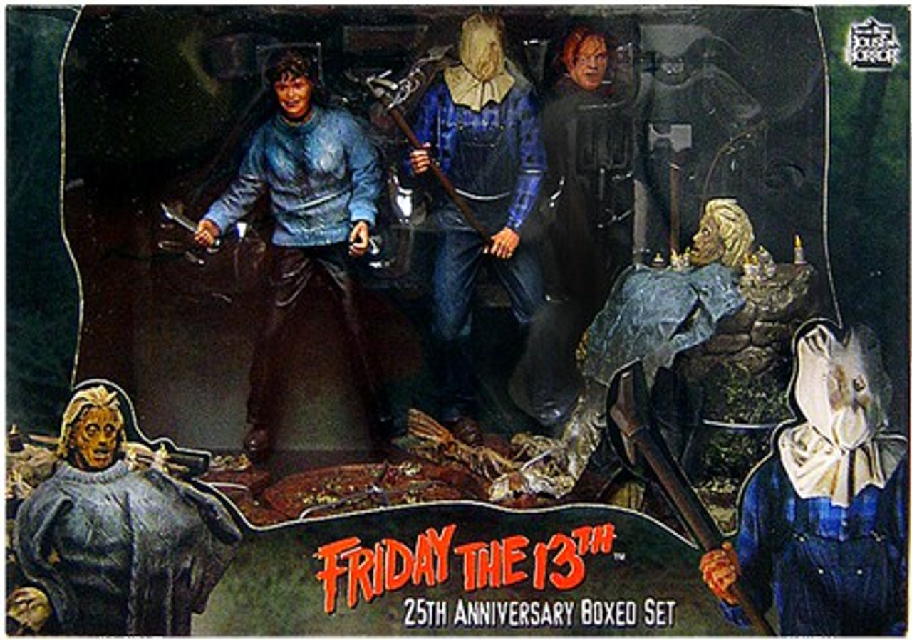 NECA Friday the 13th Cult Classics 25th Anniversary Action Figure Set