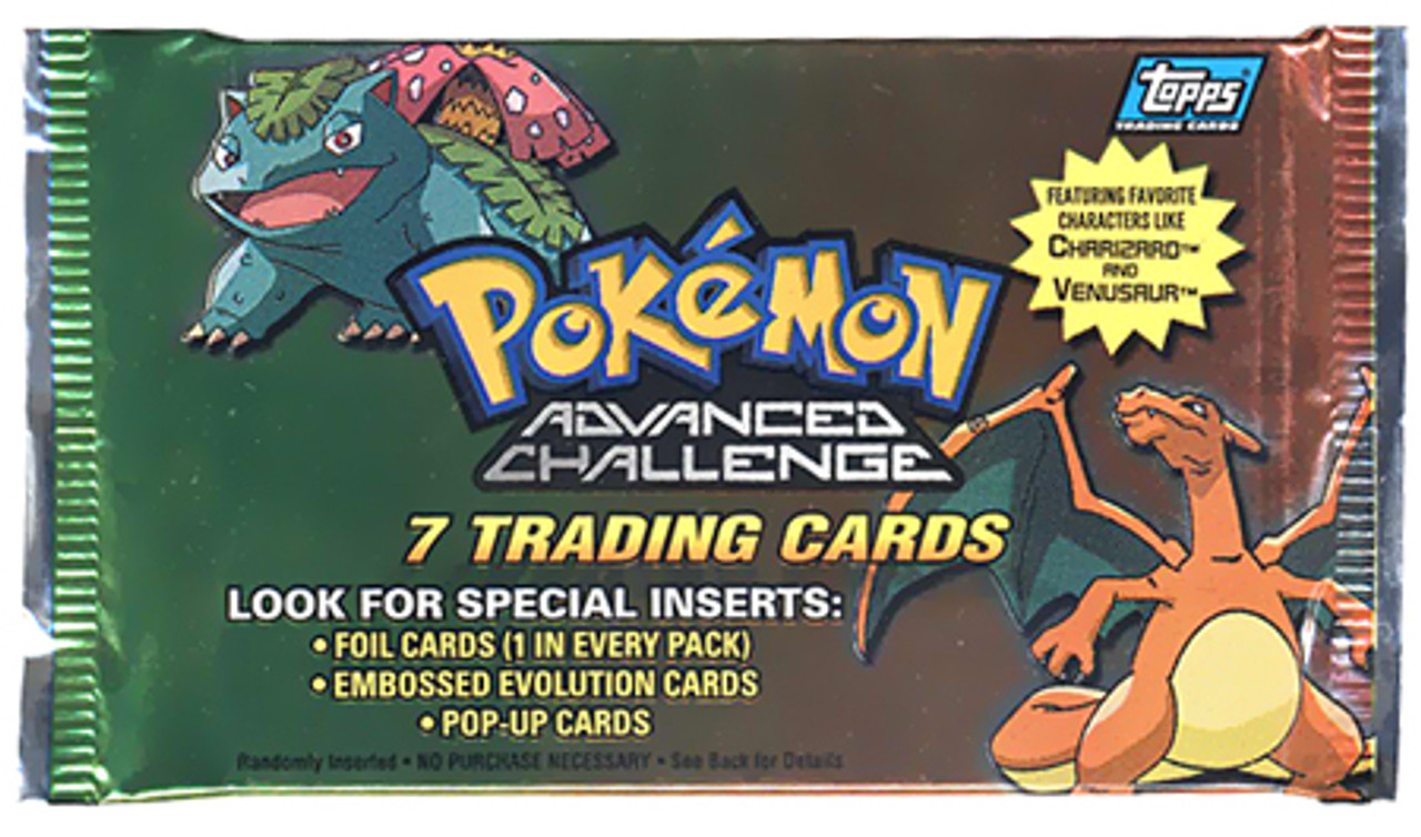 Pokemon Advanced Challenge Trading Card Pack