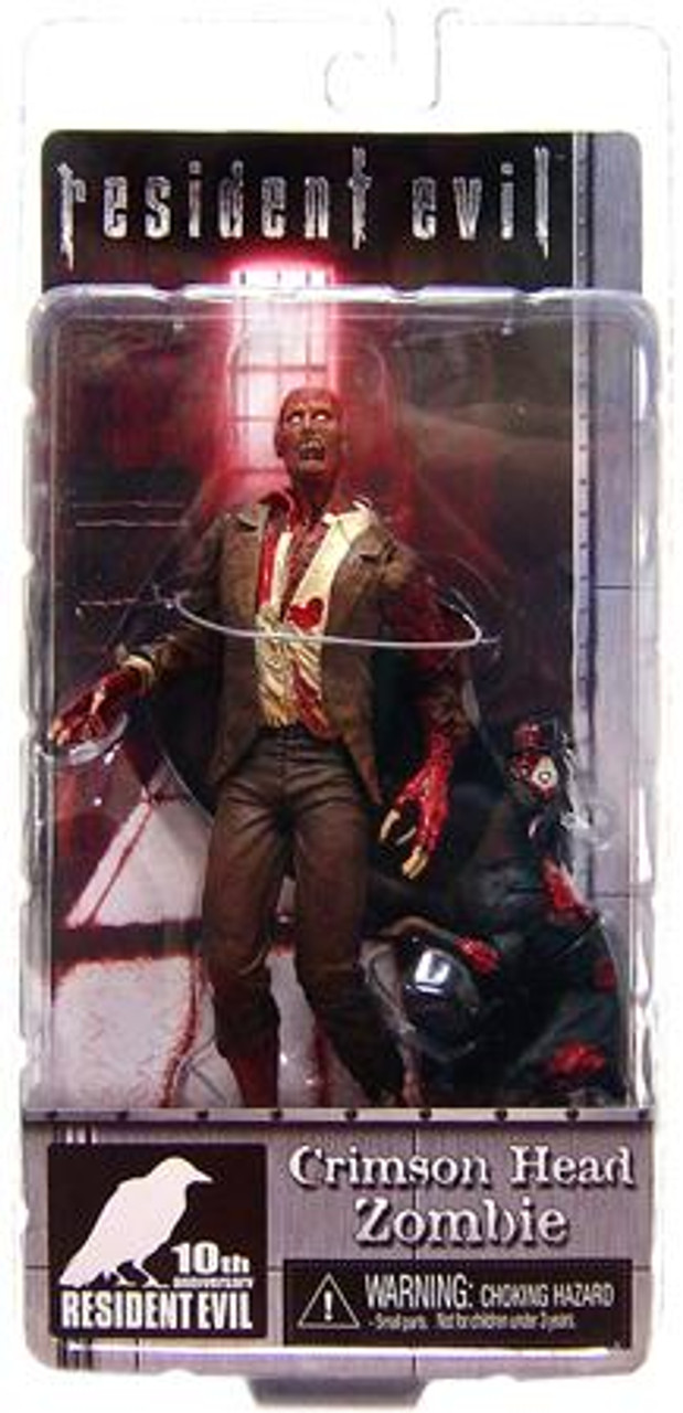 NECA Resident Evil 10th Anniversary Series 2 Crimson Head Zombie Action Figure
