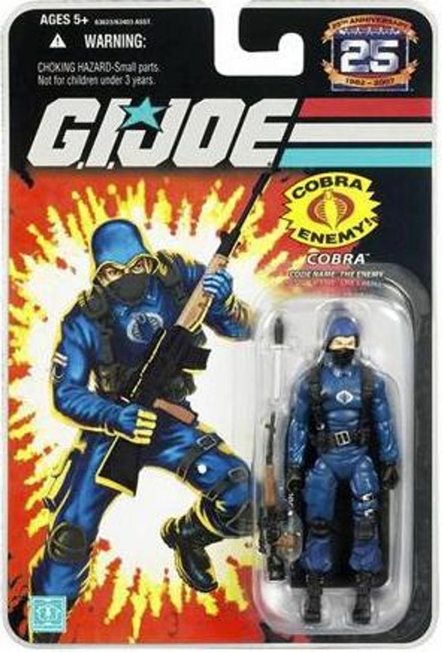 GI Joe 25th Anniversary Wave 2 Cobra Action Figure