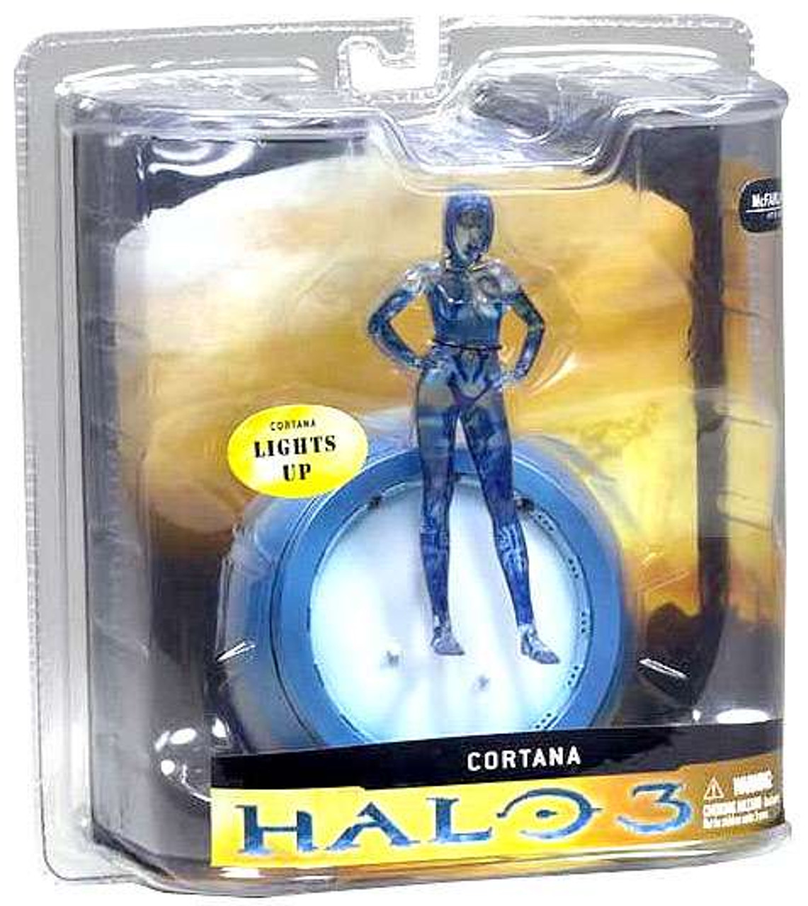 McFarlane Toys Halo 3 Cortana Action Figure [Transparent]