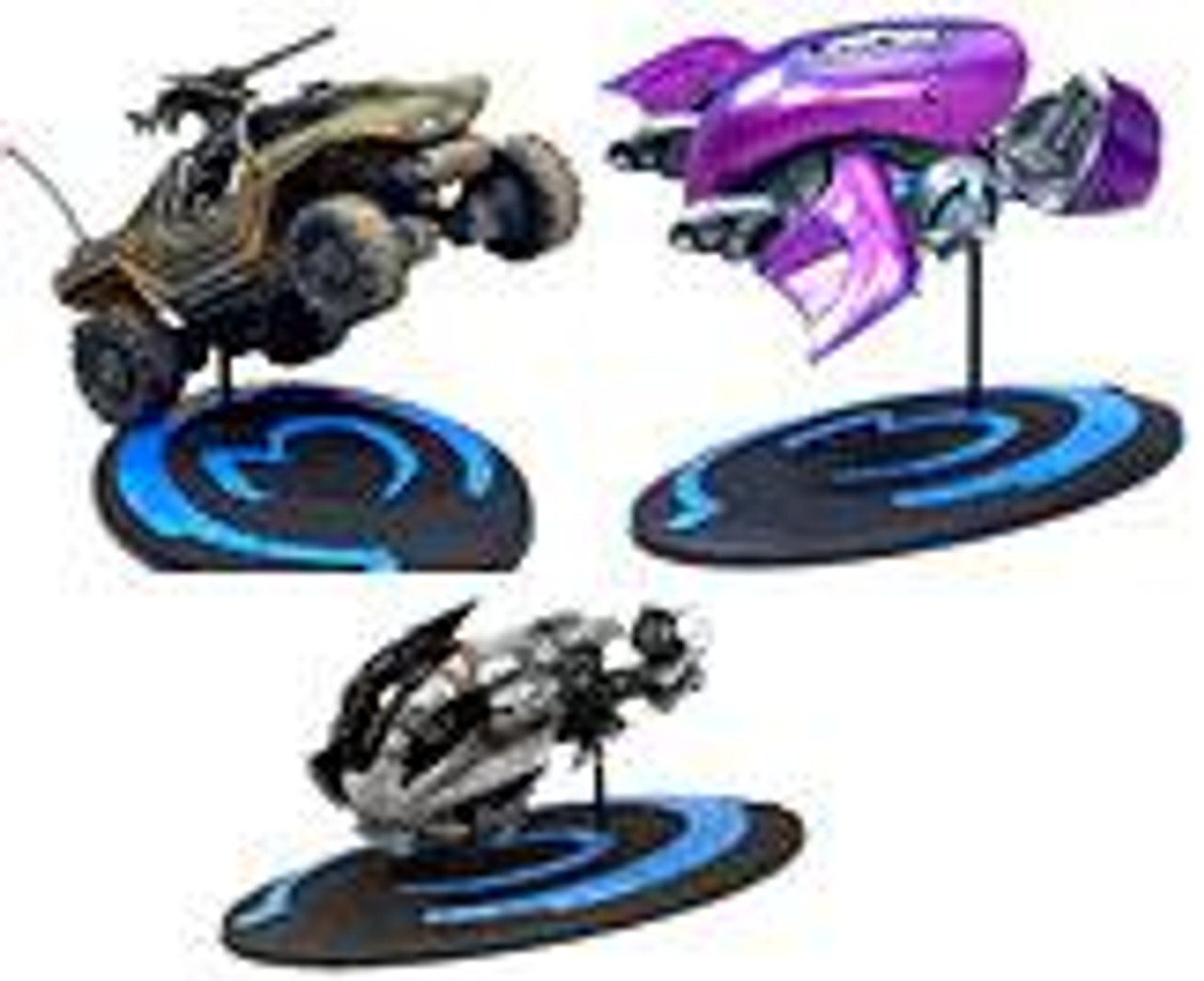 McFarlane Toys Halo 3 Series 1 Set of 3 3-Inch Diecast Vehicles