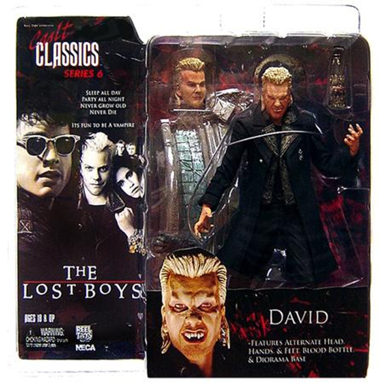 NECA The Lost Boys Cult Classics Series 6 David Action Figure