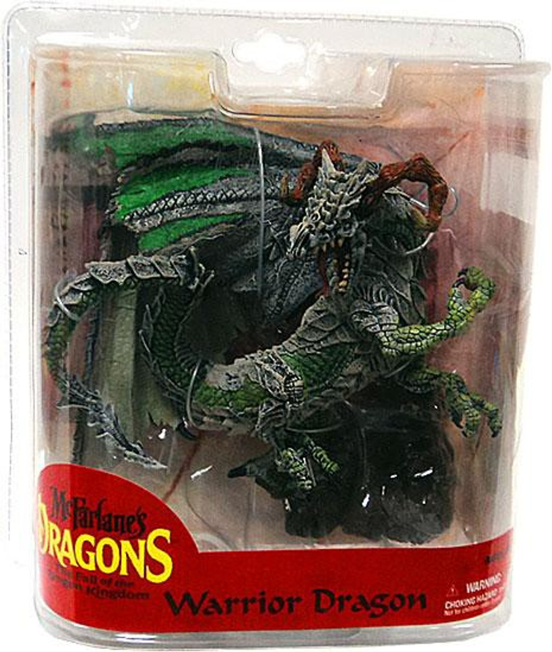 McFarlane Toys Dragons The Fall of the Dragon Kingdom Series 7 Warrior Dragon Clan Action Figure