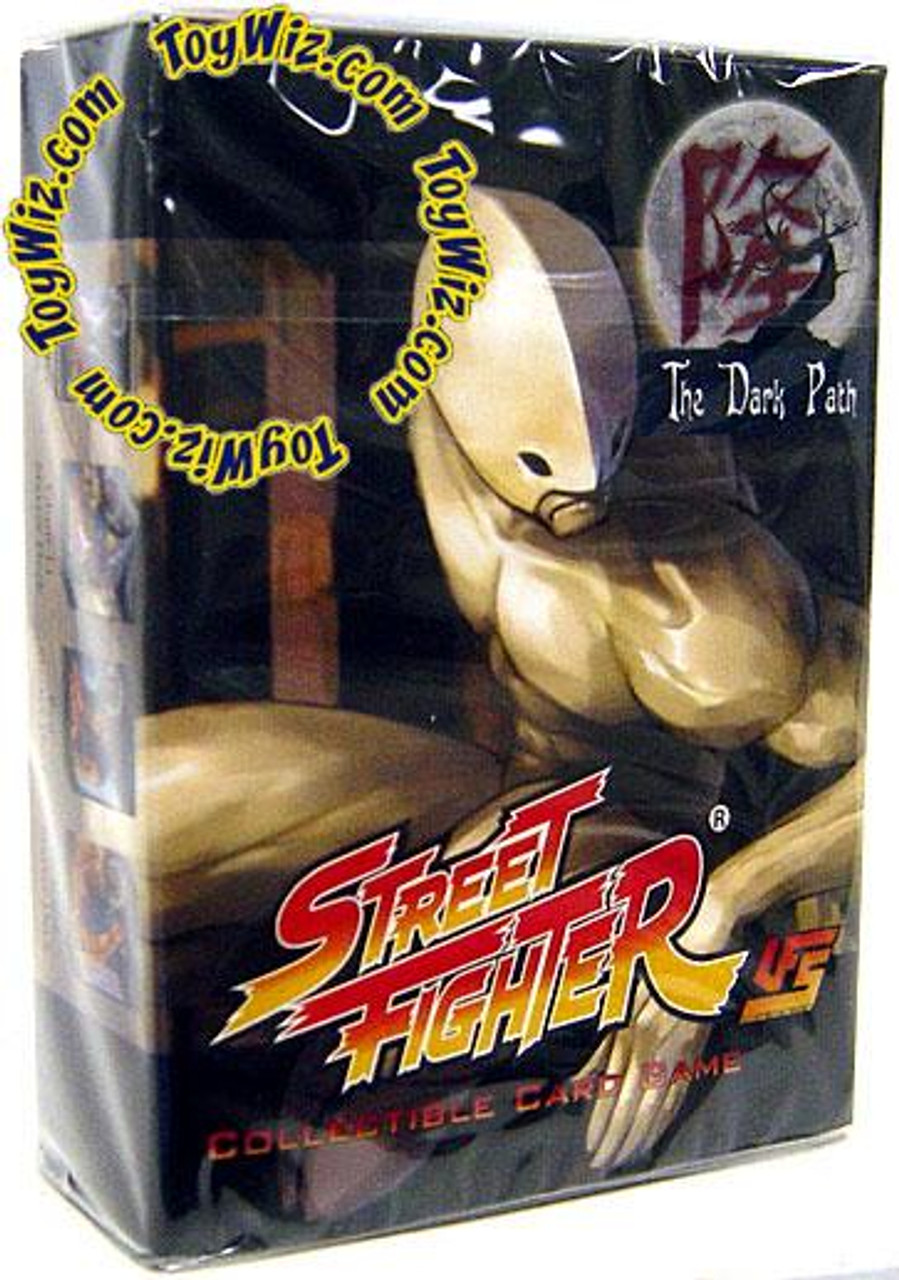 Universal Fighting System Street Fighter The Dark Path Twelve Starter Deck