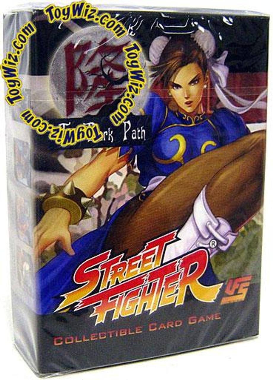 Universal Fighting System Street Fighter The Dark Path Chun-Li Starter Deck