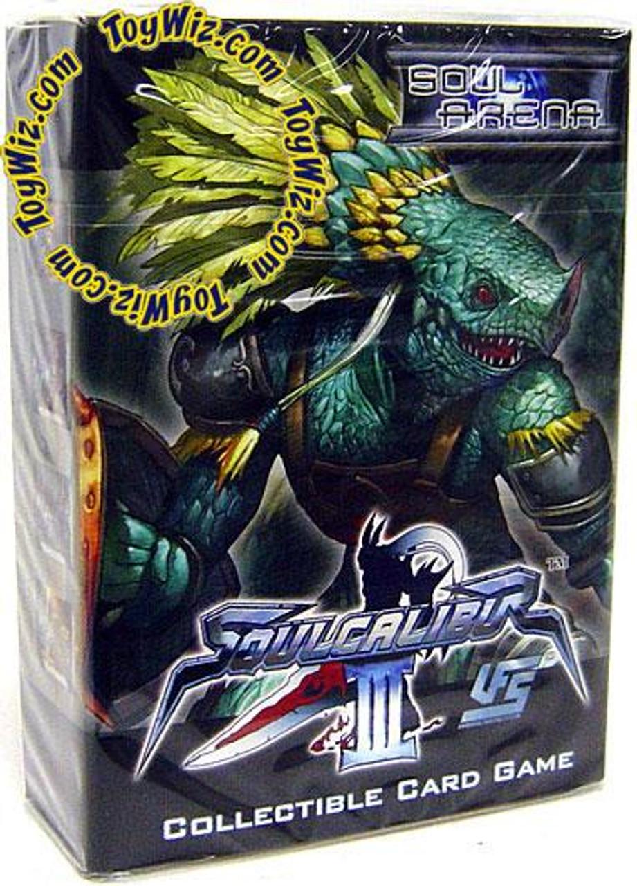 Universal Fighting System Soul Calibur III Soul Arena Lizardman Starter Deck