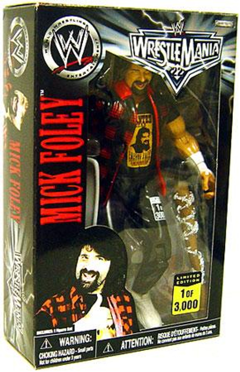 WWE Wrestling Exclusives Mick Foley Exclusive Action Figure