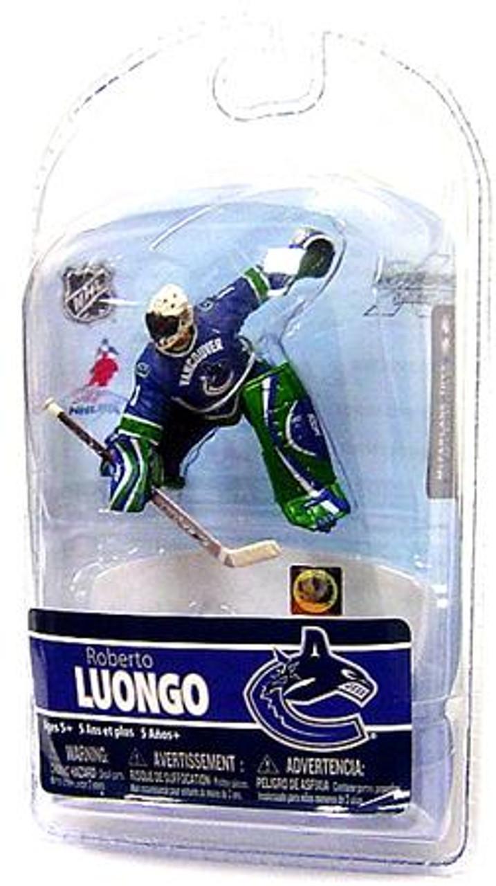 McFarlane Toys NHL Vancouver Canucks Sports Picks 3 Inch Mini Series 5 Roberto Luongo Mini Figure