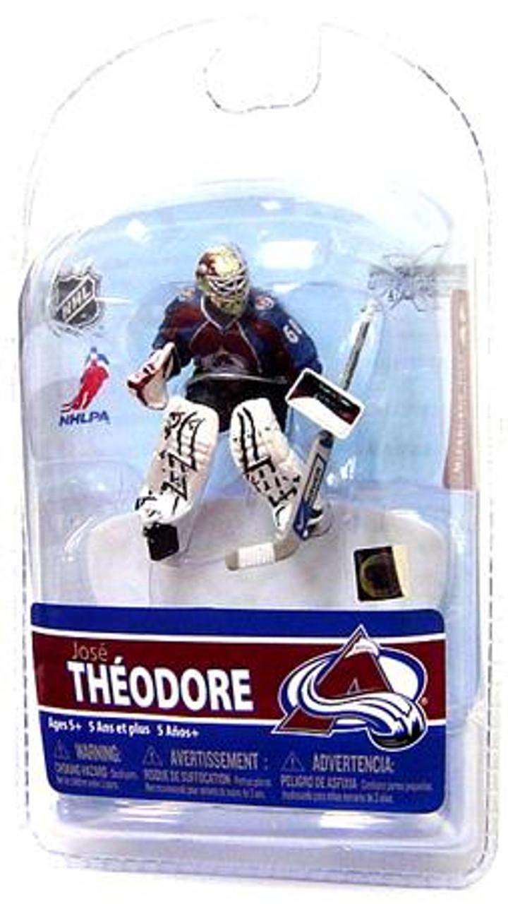 McFarlane Toys NHL Colorado Avalanche Sports Picks 3 Inch Mini Series 5 Jose Theodore Mini Figure