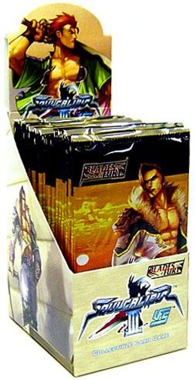 Universal Fighting System Soul Calibur III Blades of Fury Booster Box