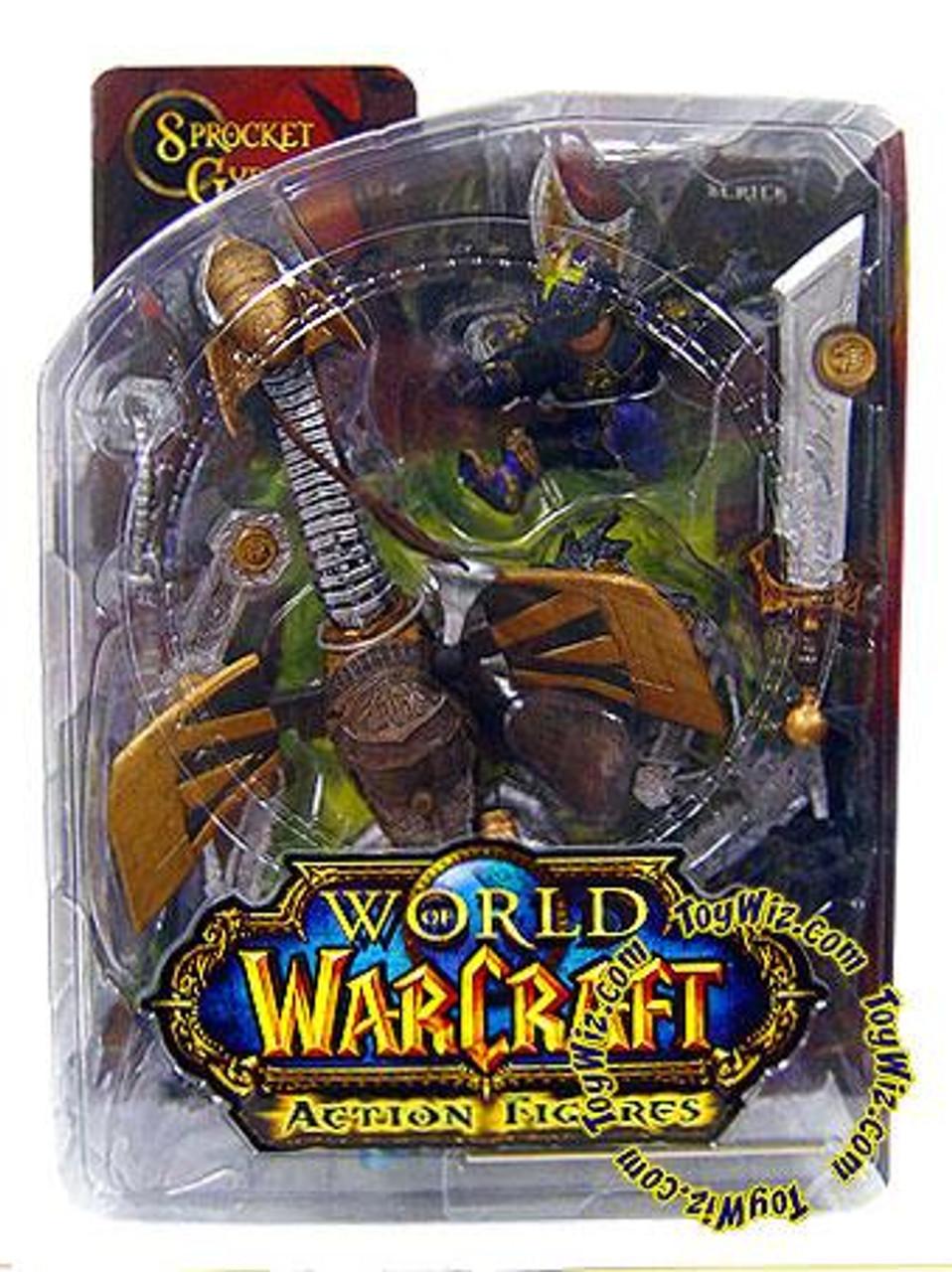 World of Warcraft Series 2 Sprocket Gyrospring Action Figure [Gnome Warrior]