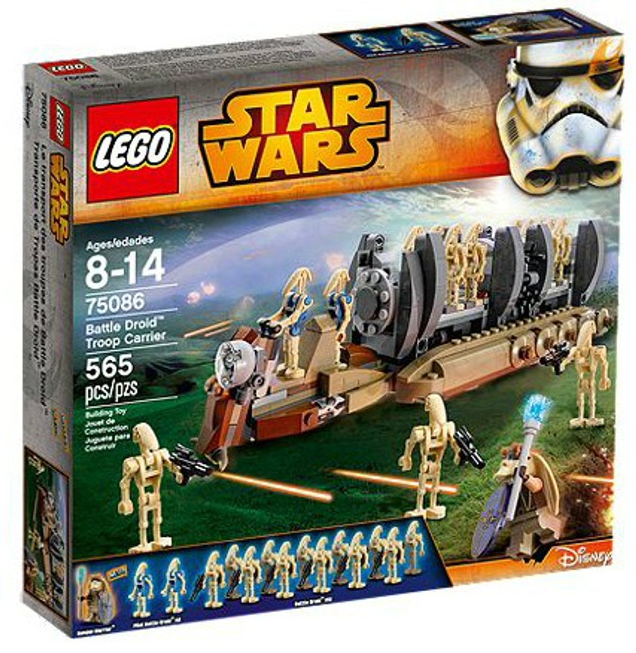LEGO Star Wars The Phantom Menace Battle Droid Troop Carrier Exclusive Set #75086
