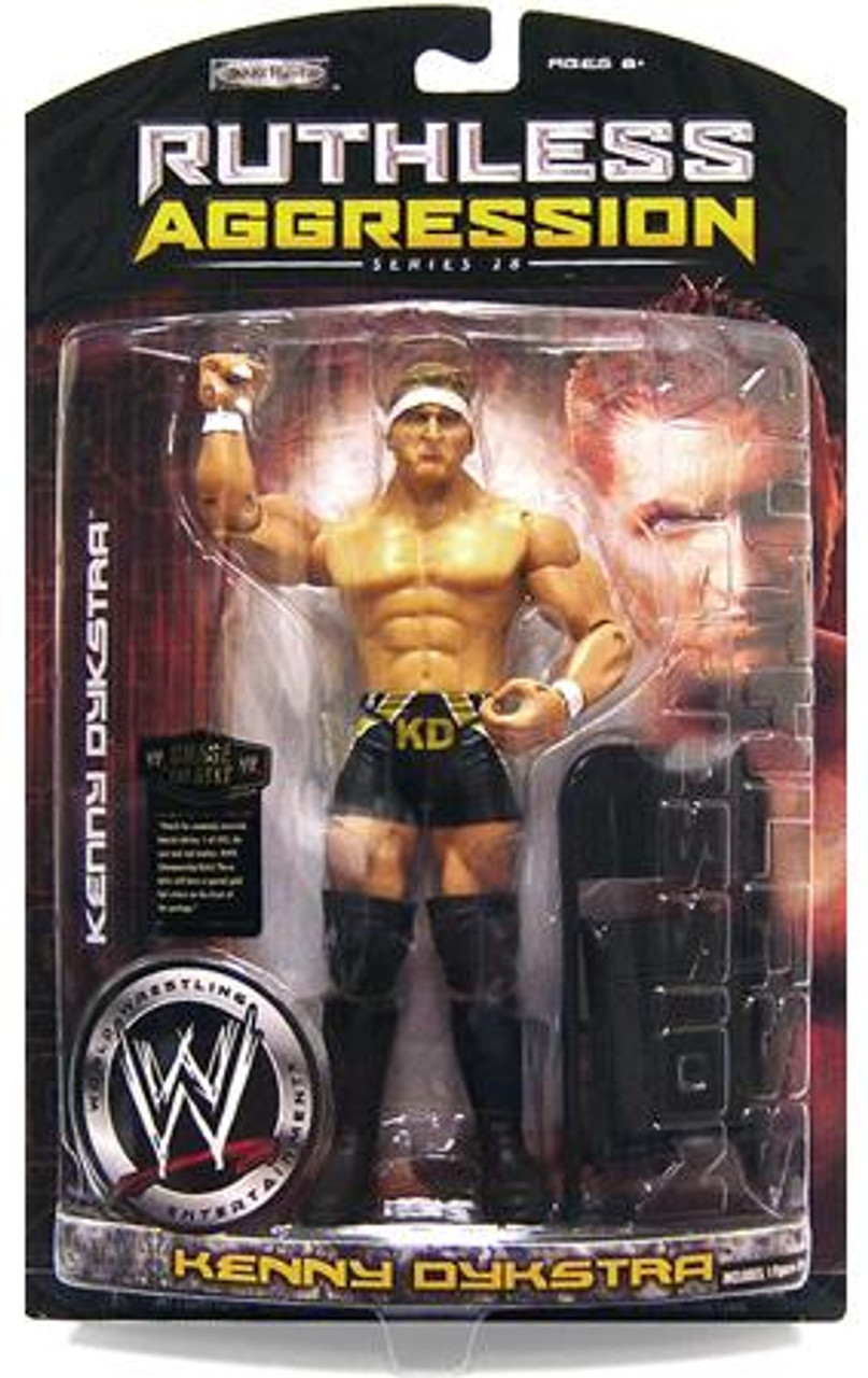 WWE Wrestling Ruthless Aggression Series 28 Kenny Dykstra Action Figure