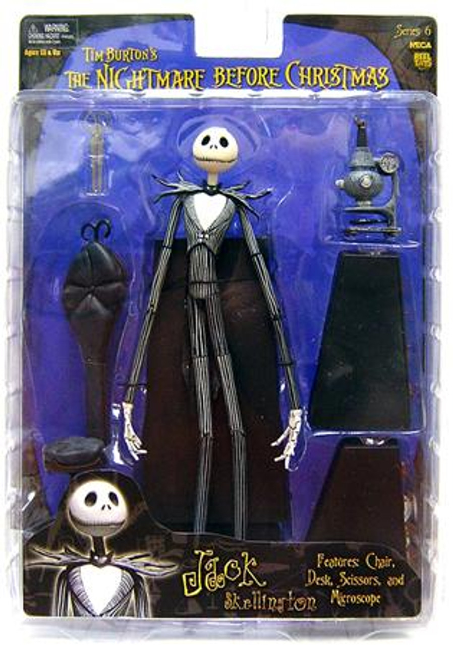 NECA The Nightmare Before Christmas Series 6 Jack Skellington Action Figure [Experiment]