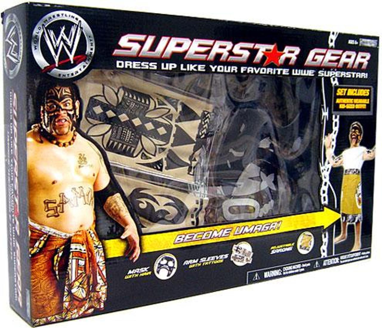 WWE Wrestling Superstar Gear Umaga Roleplay Gear