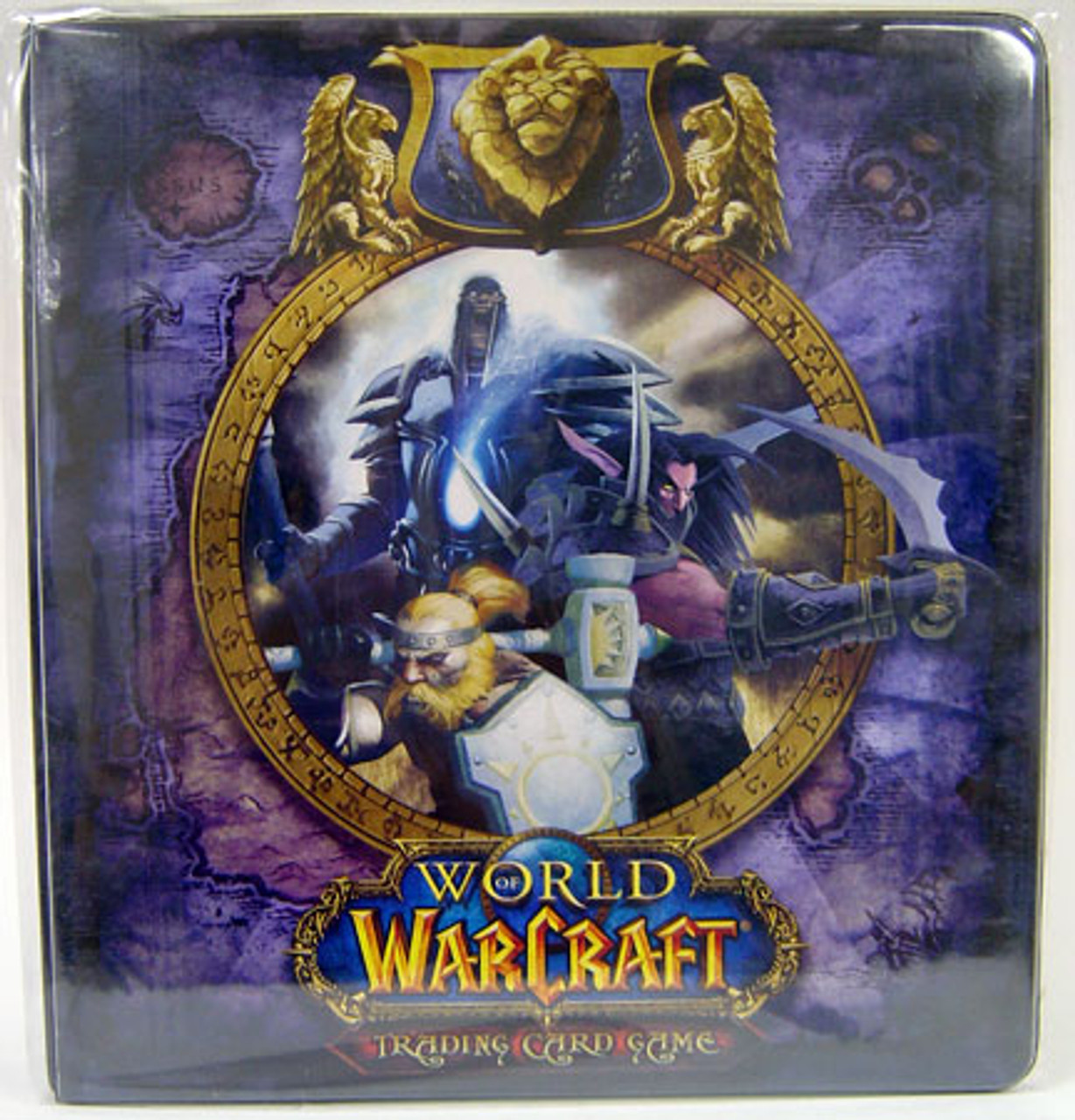 World of Warcraft Card Supplies Alliance 2-Inch D-Ring Binder