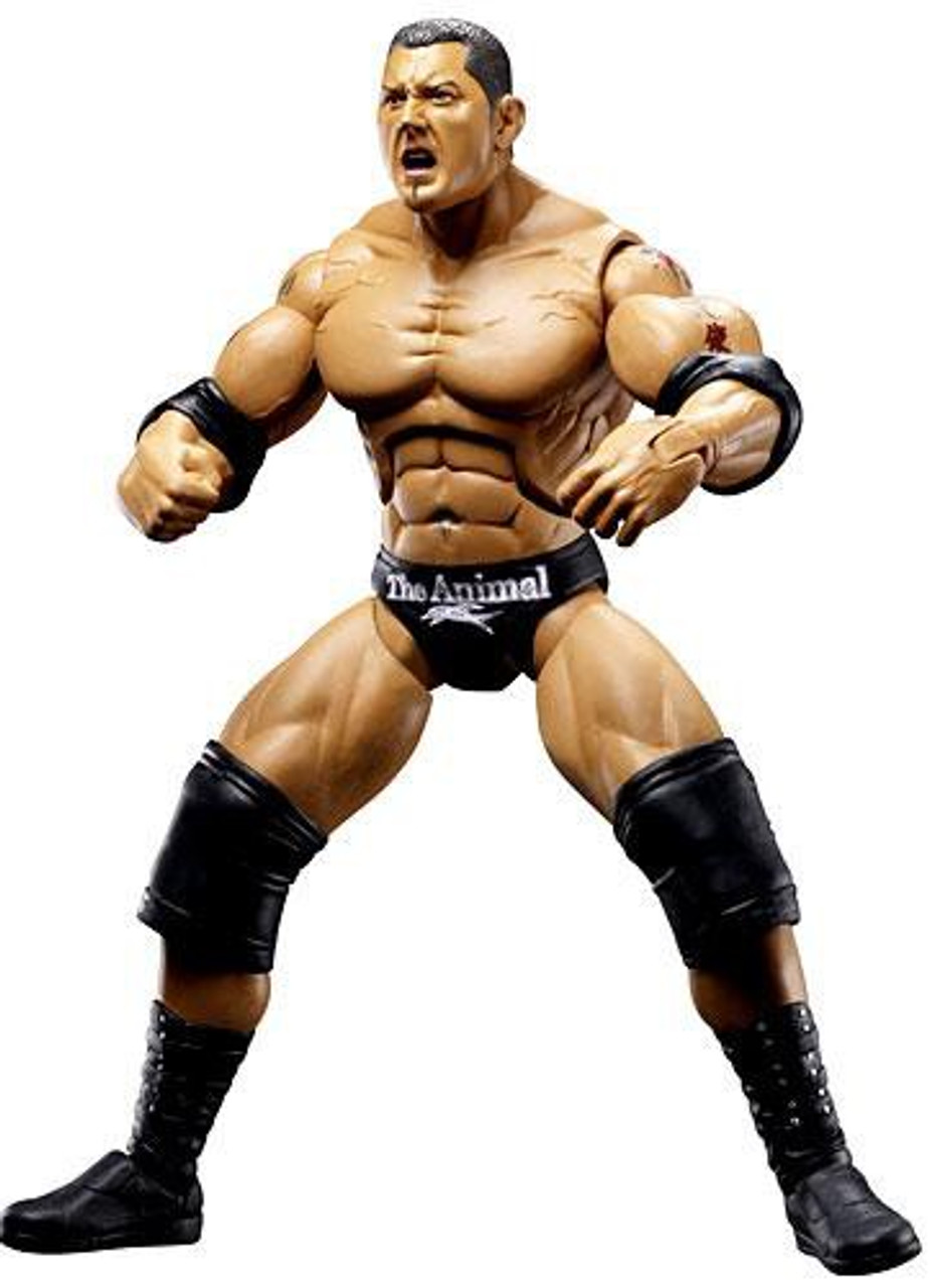 WWE Wrestling Deluxe Aggression Series 10 Batista Action Figure