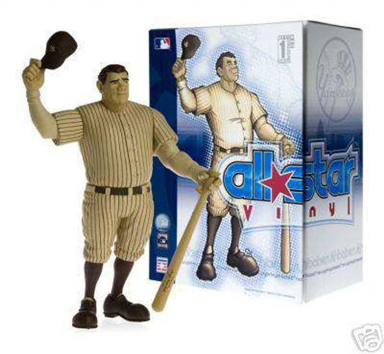 MLB New York Yankees All Star Vinyl Babe Ruth Vinyl Figure [Sepia Colored]