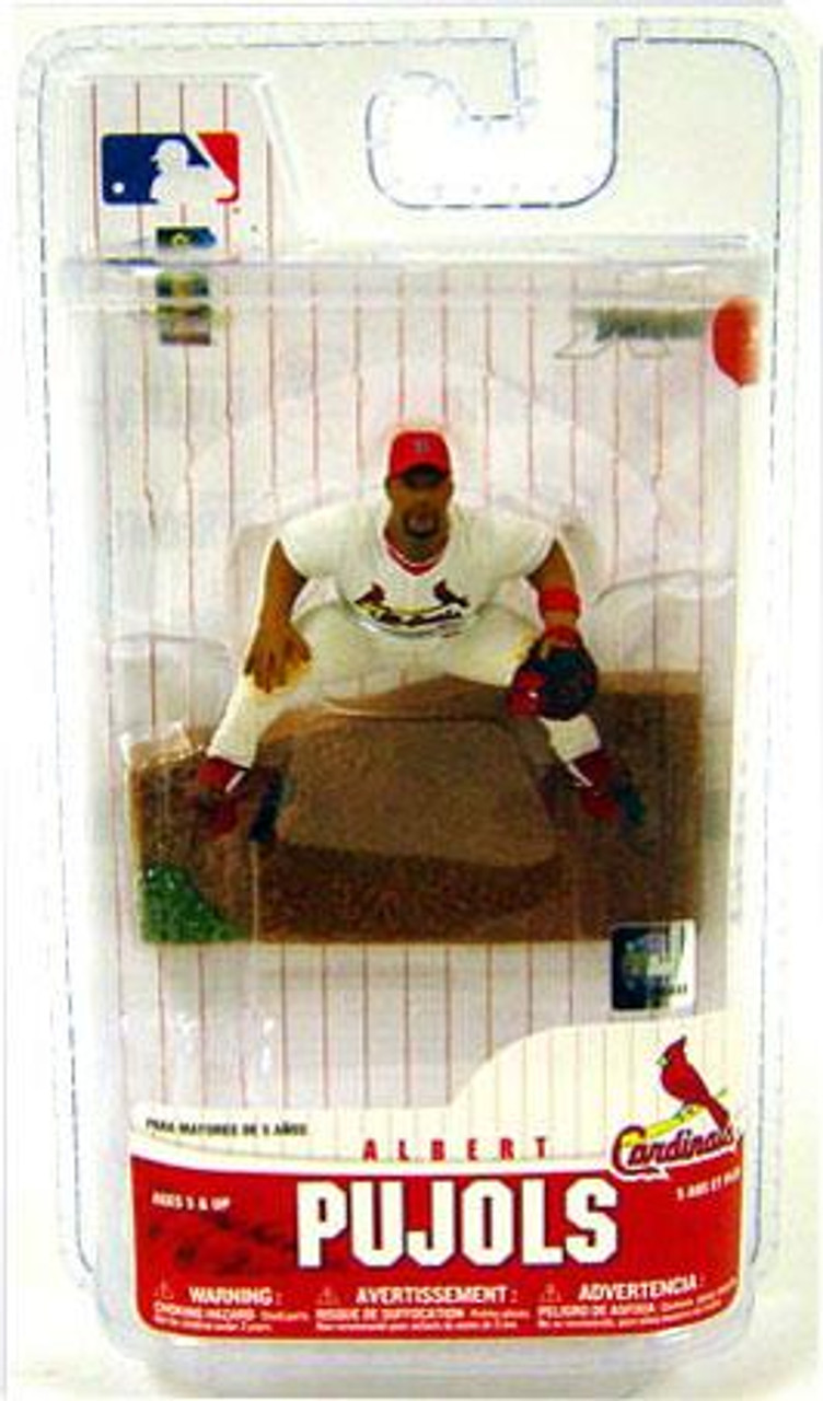 McFarlane Toys MLB St. Louis Cardinals Sports Picks 3 Inch Mini Series 6 Albert Pujols Mini Figure
