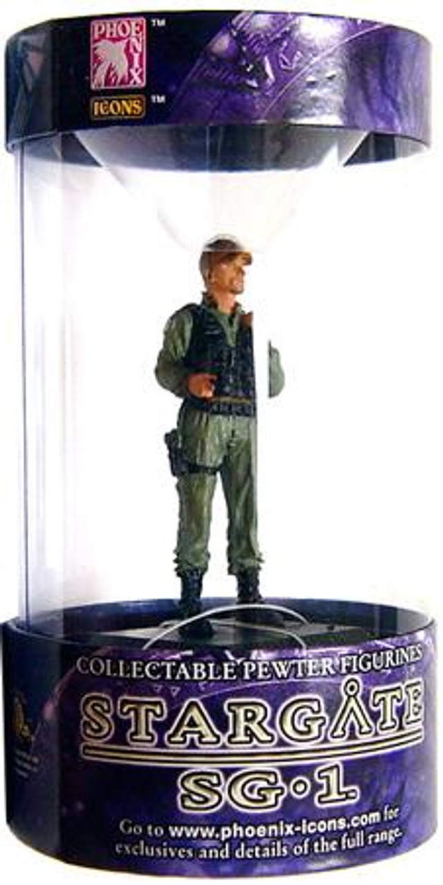 Stargate SG-1 Series 1 Colonel O'Neill Pewter Figure