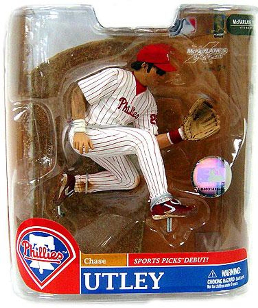 McFarlane Toys MLB Philadelphia Phillies Sports Picks Series 20 Exclusive Chase Utley Exclusive Action Figure
