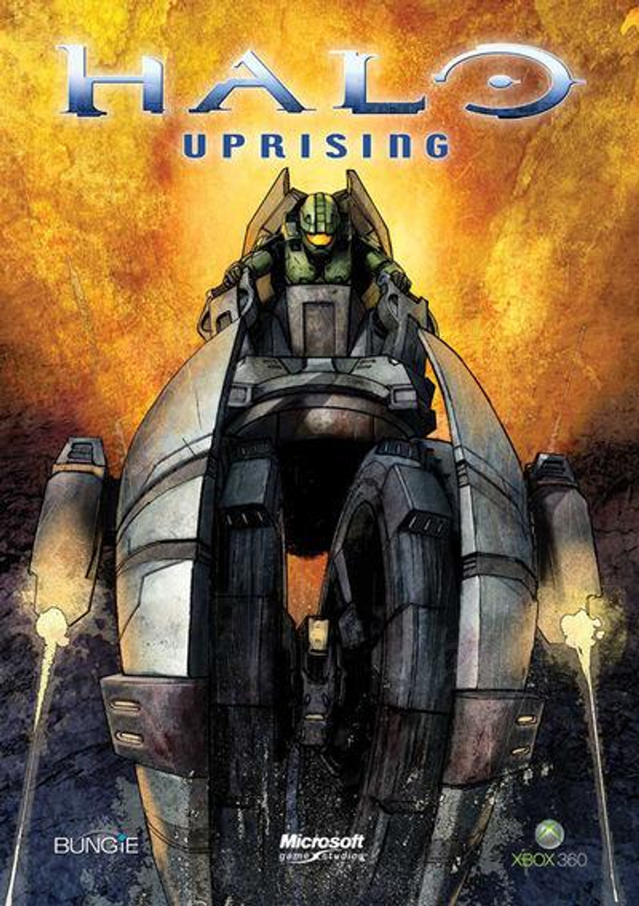 Halo 3 Uprising Part 2 of 4 Comic Book