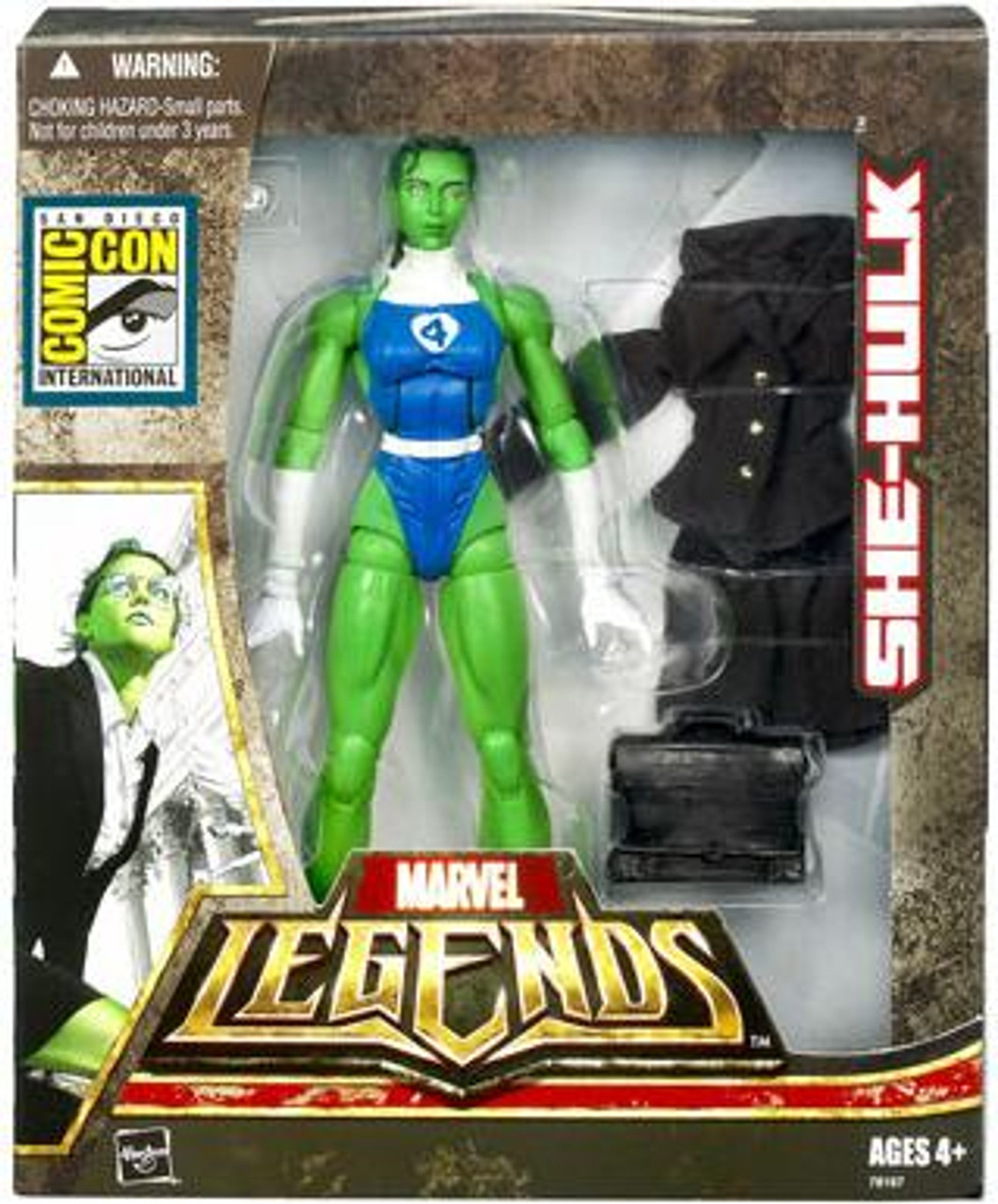 Marvel Legends Exclusives She-Hulk Exclusive Action Figure [Fantastic 4]