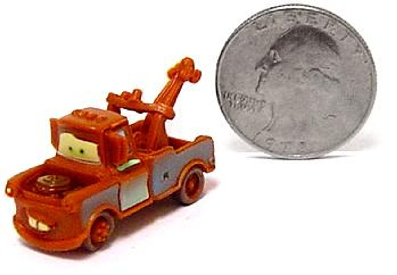 Disney Cars Mini Plastic Cars Mater 1-Inch Mini Car [Loose]