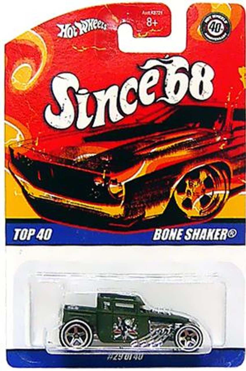 Hot Wheels Since '68 Top 40 Bone Shaker Diecast Vehicle #29