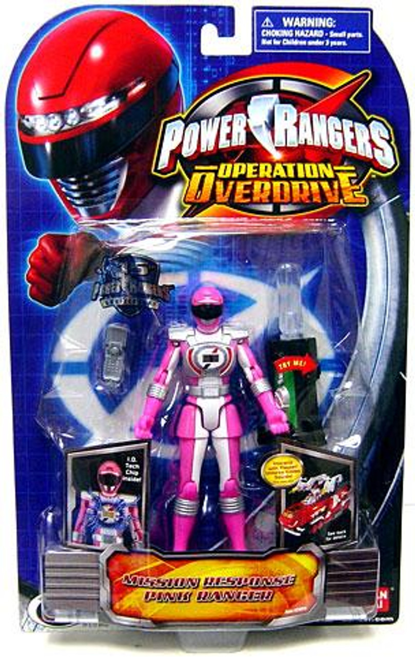 Power Rangers Operation Overdrive Mission Response Pink Ranger Action Figure