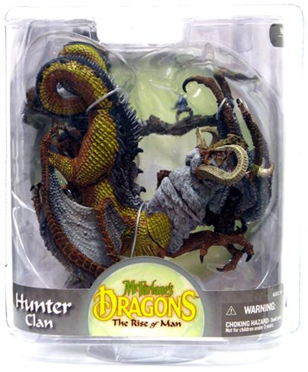 McFarlane Toys Dragons The Rise of Man Series 8 Hunter Clan 2 Action Figure