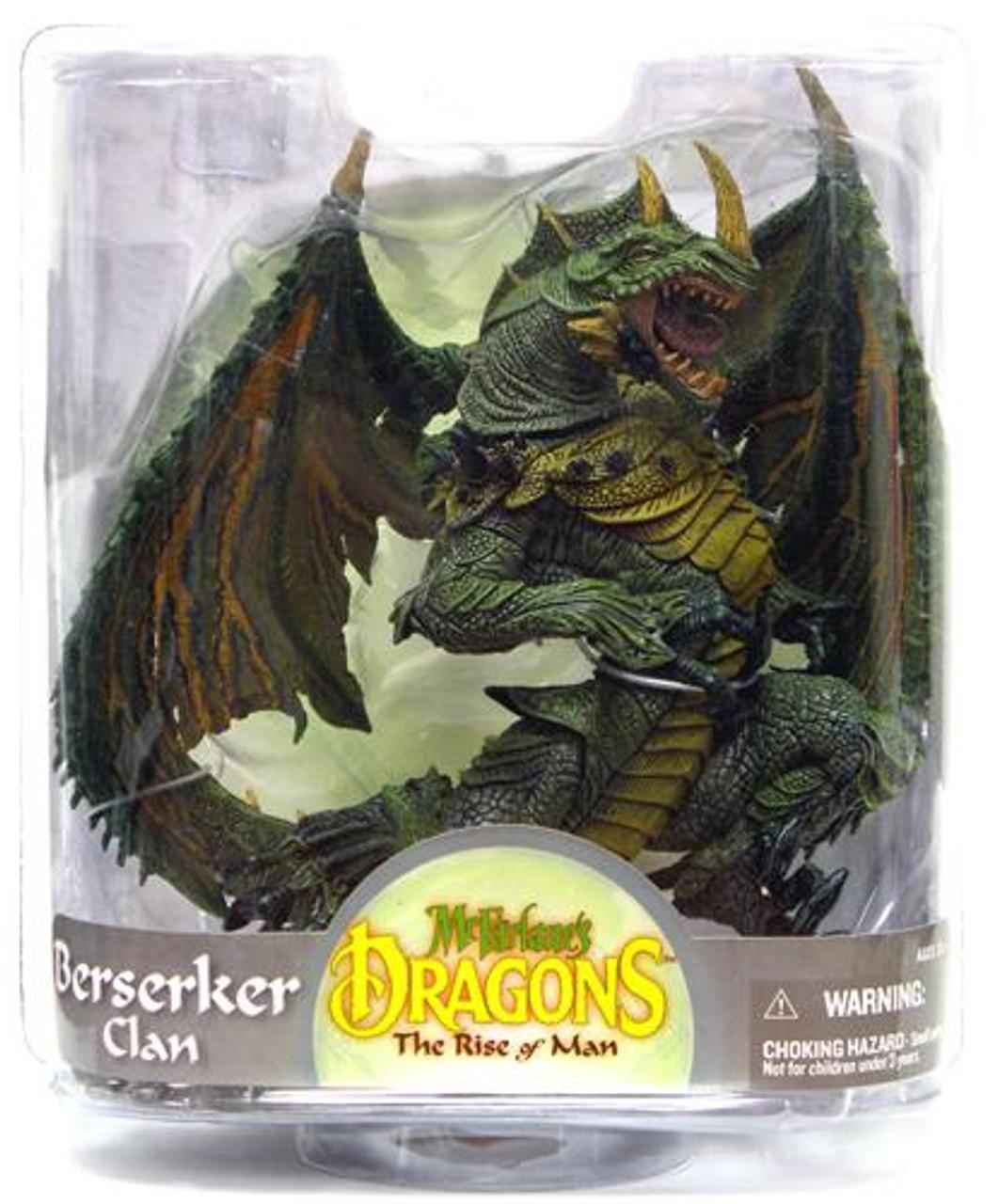 McFarlane Toys Dragons The Rise of Man Series 7 Berserker Dragon Action Figure