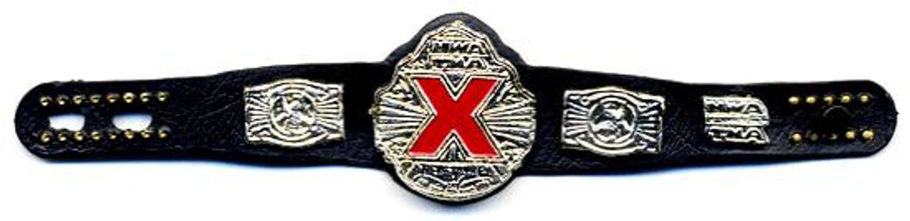TNA Wrestling Loose TNA X Title Belt Action Figure Accessory