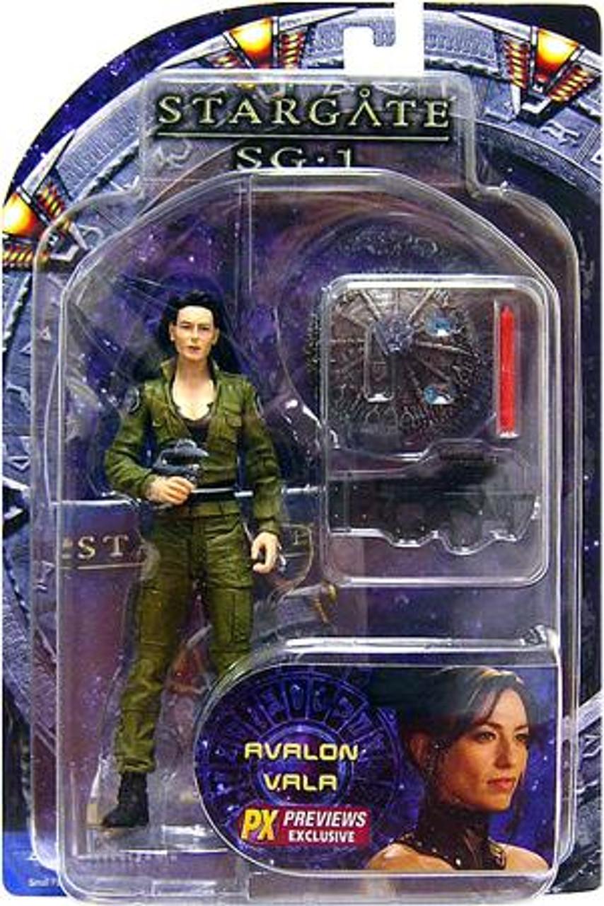 Stargate SG-1 Vala Mal Doran Action Figure [Factory Error]