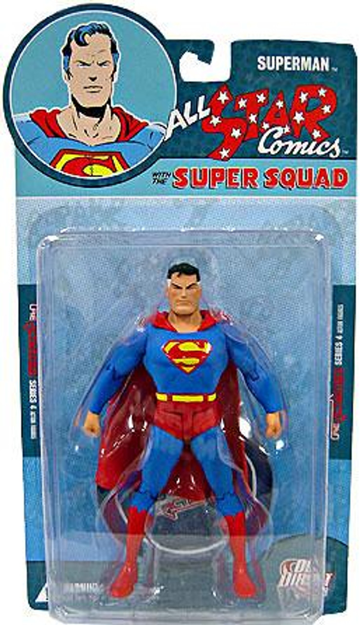 DC Reactivated Series 4 All Star Comics Super Squad Superman Action Figure