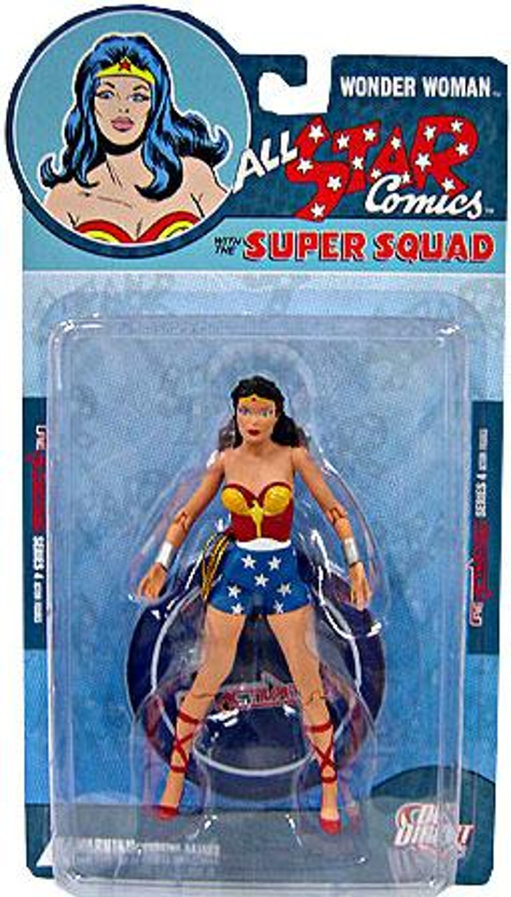 DC Reactivated Series 4 All Star Comics Super Squad Wonder Woman Action Figure