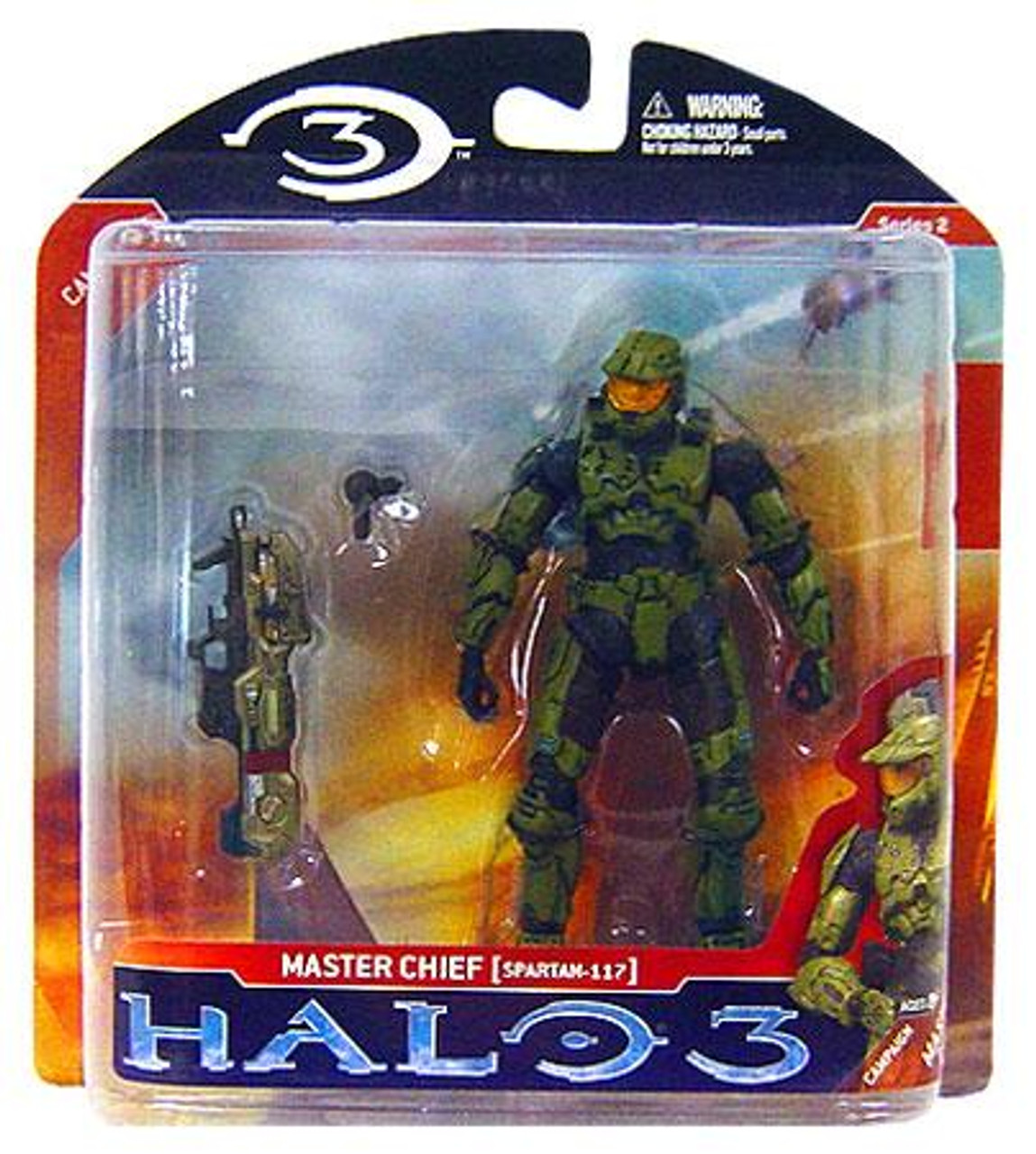 McFarlane Toys Halo 3 Series 2 Master Chief Spartan-117 Action Figure
