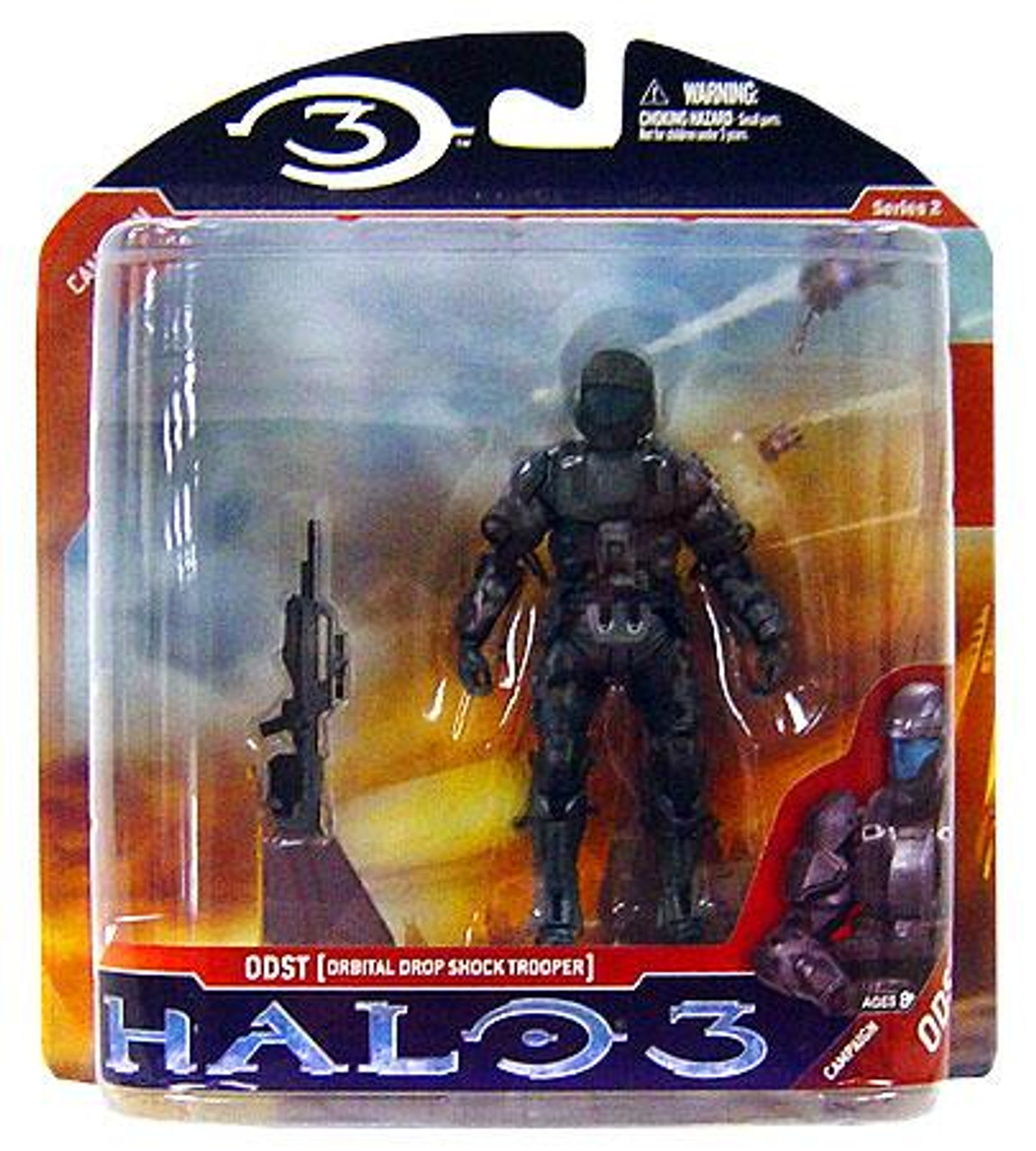McFarlane Toys Halo 3 Series 2 ODST Orbital Drop Shock Trooper Action Figure