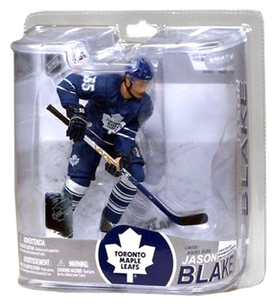McFarlane Toys NHL Toronto Maple Leafs Sports Picks Series 17 Jason Blake Action Figure