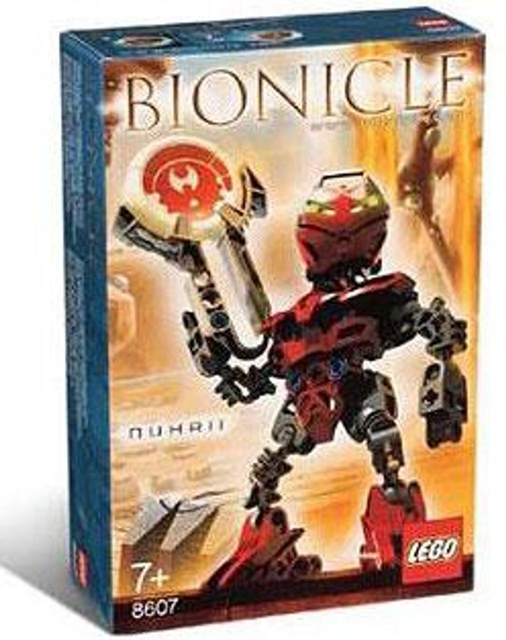 LEGO Bionicle Matoran of Metru Nui Nuhrii Set #8607