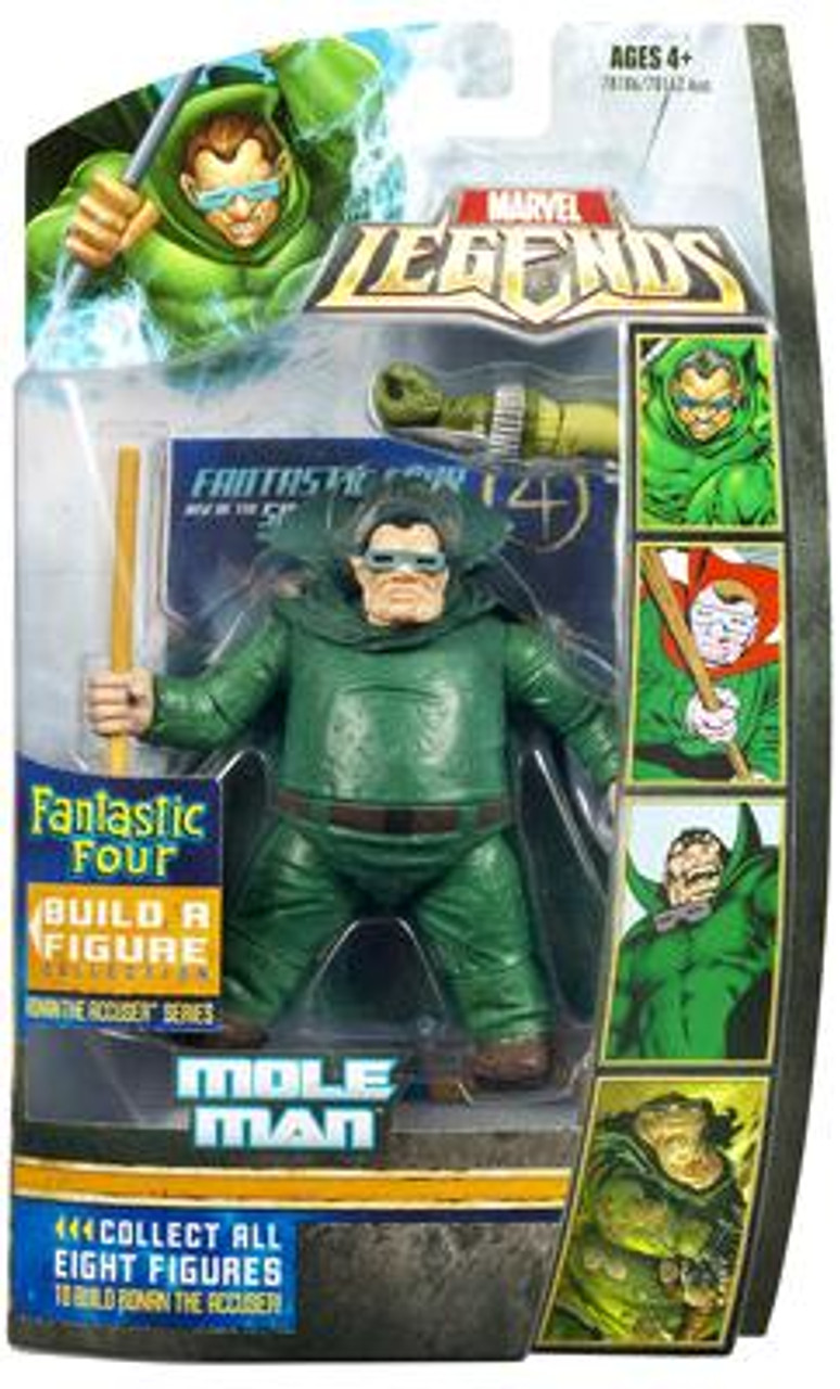 Marvel Legends Fantastic Four Mole Man Action Figure