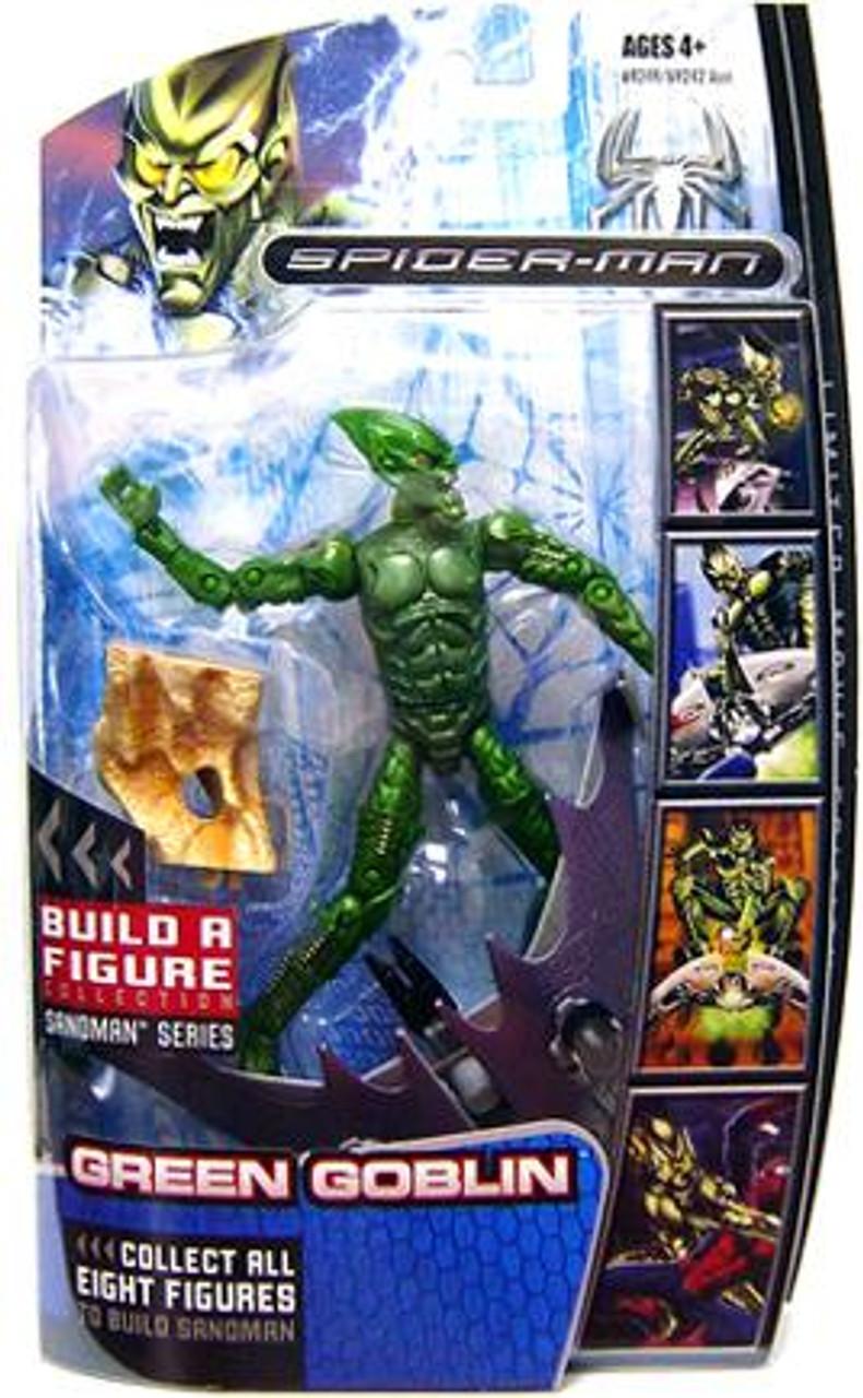 Marvel Legends Spider-Man 3 Sandman Series Green Goblin Action Figure
