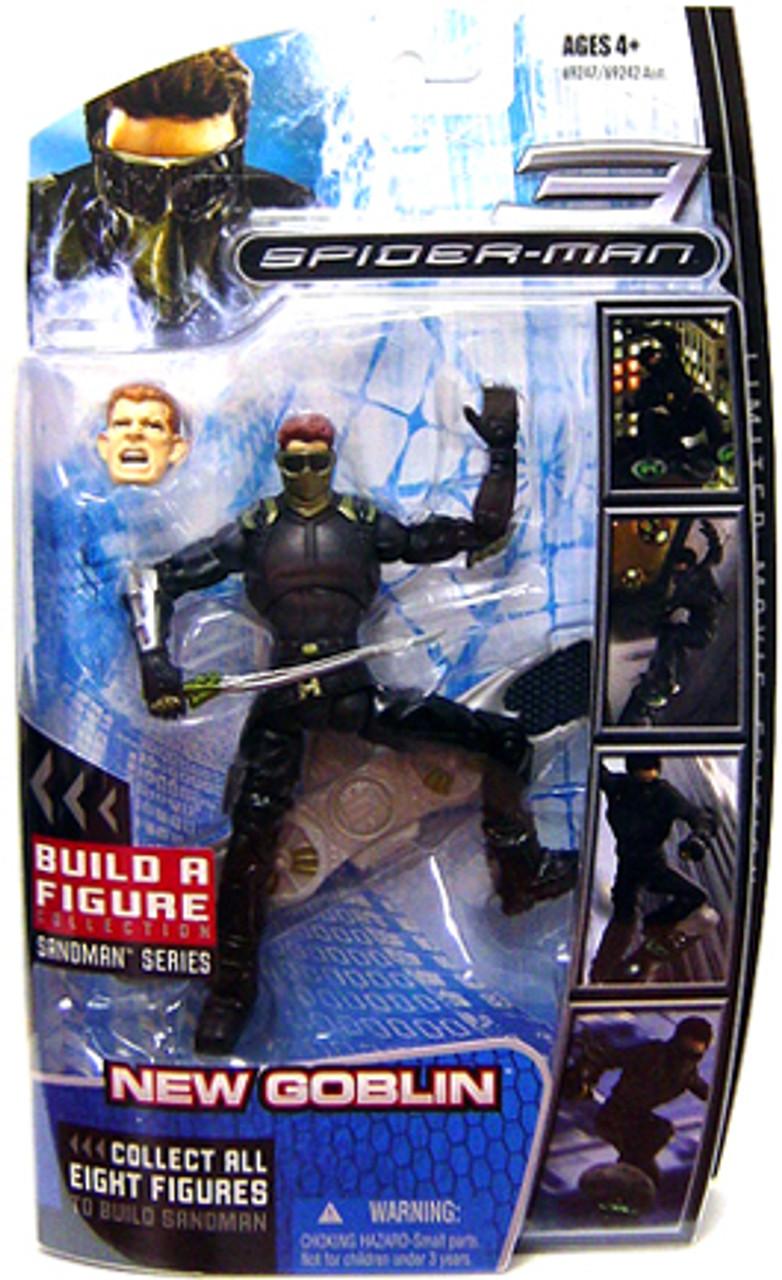 Marvel Legends Spider-Man 3 Sandman Series New Goblin Action Figure
