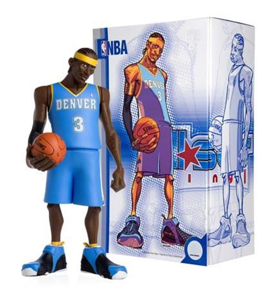 NBA Denver Nuggets All Star Vinyl Allen Iverson Vinyl Figure [Blue Away Jersey]