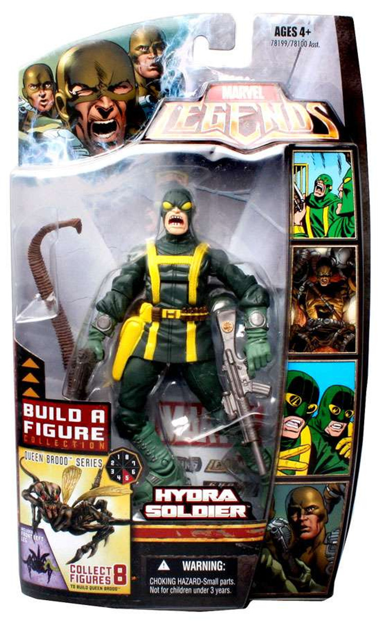 Marvel Legends Series 18 Brood Queen Hydra Soldier Action Figure [Open Mouth Variant]