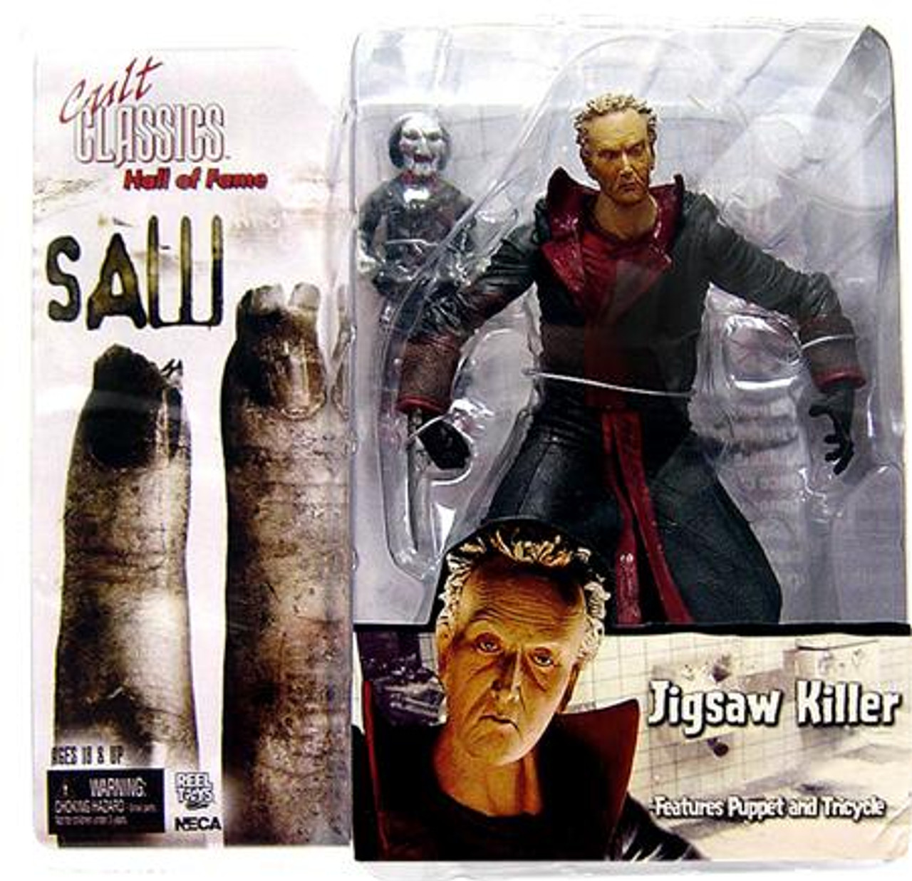 NECA Saw II Cult Classics Hall of Fame Jigsaw Killer Action Figure [Saw II]