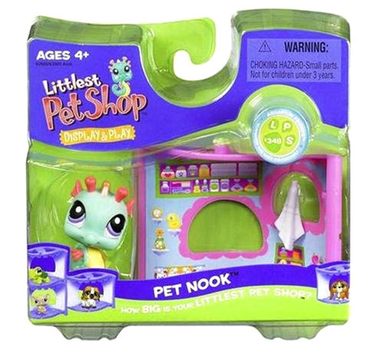 Littlest Pet Shop Pet Nook Series 1 Seahorse Figure