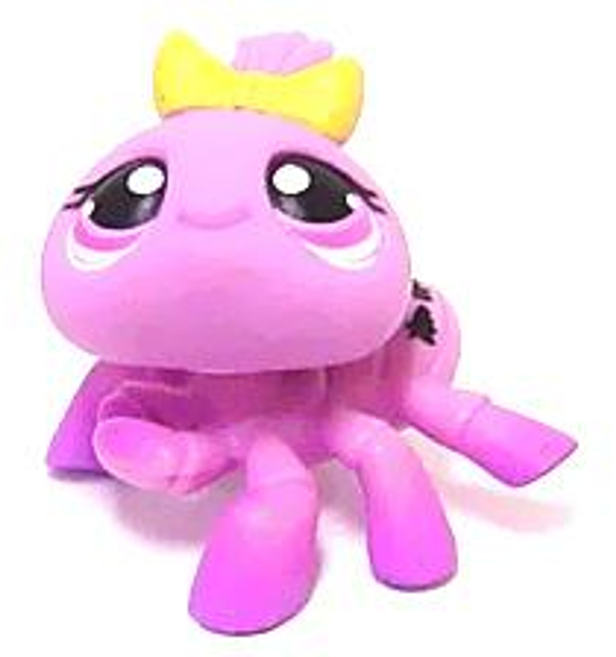 Littlest Pet Shop Spider Figure #430 [Purple with Yellow Bow Loose]