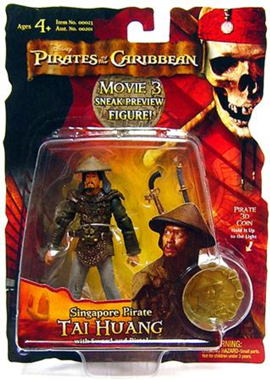 Pirates of the Caribbean At World's End Series 3 Tai Huang Action Figure [Singapore Pirate, Sneak Preview]